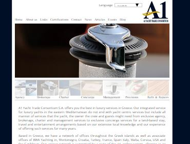 A1 Yachting - Yacht agency, charter, brokerage, management - Intranet, Applications